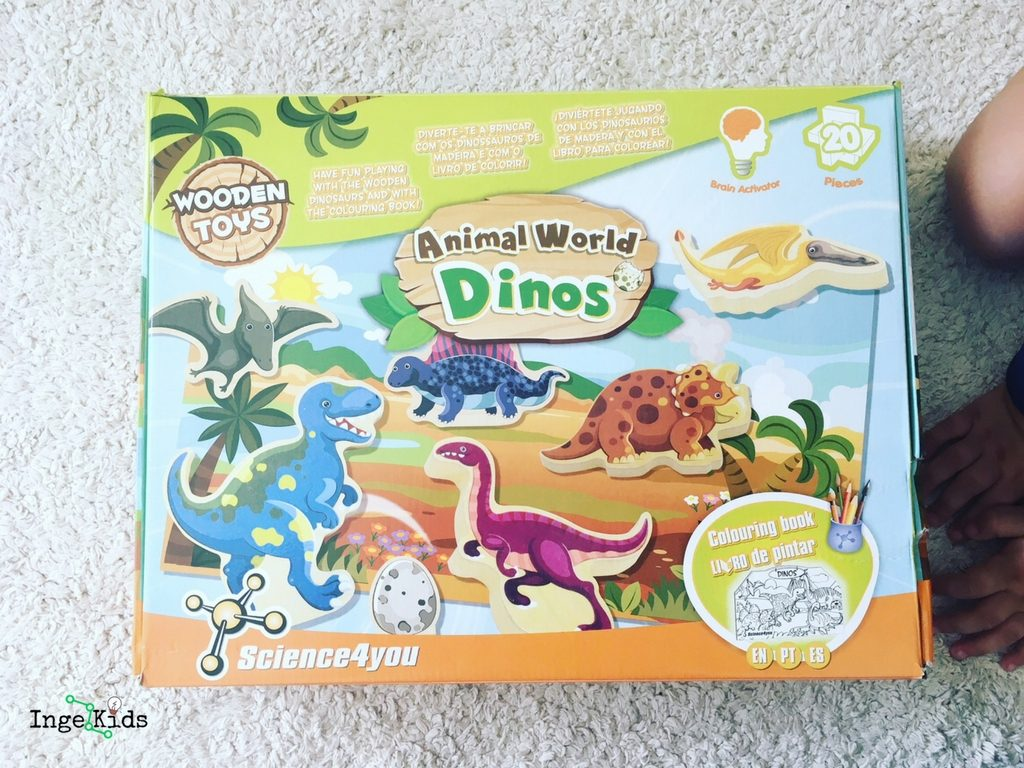 animal world dinos science4you