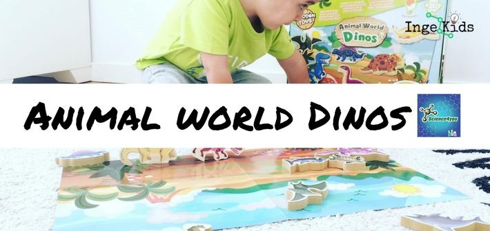 juguete educativo dinosaurios madera