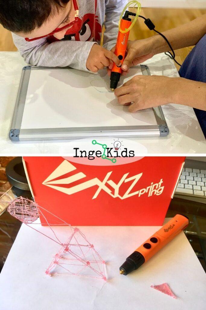 lápiz boli 3d -XYZprinting