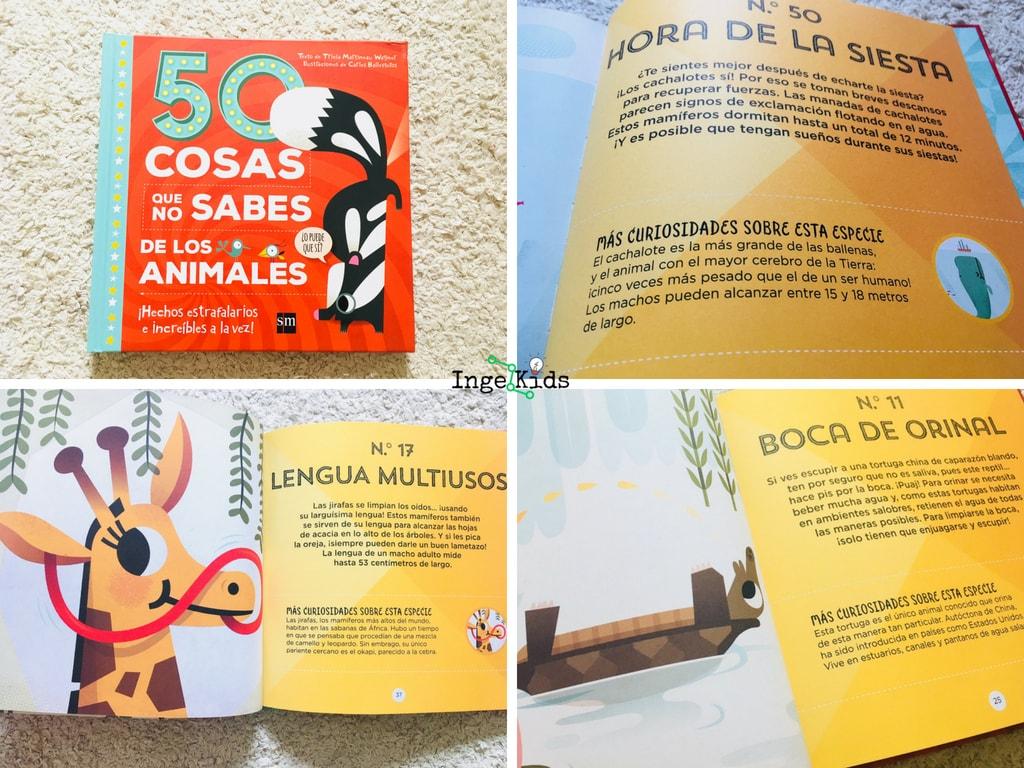 50 cosas que no sabes de animales-libro