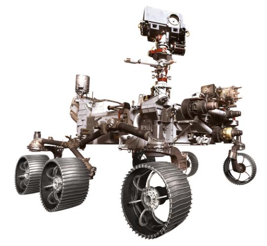 robot rover 2020 marte