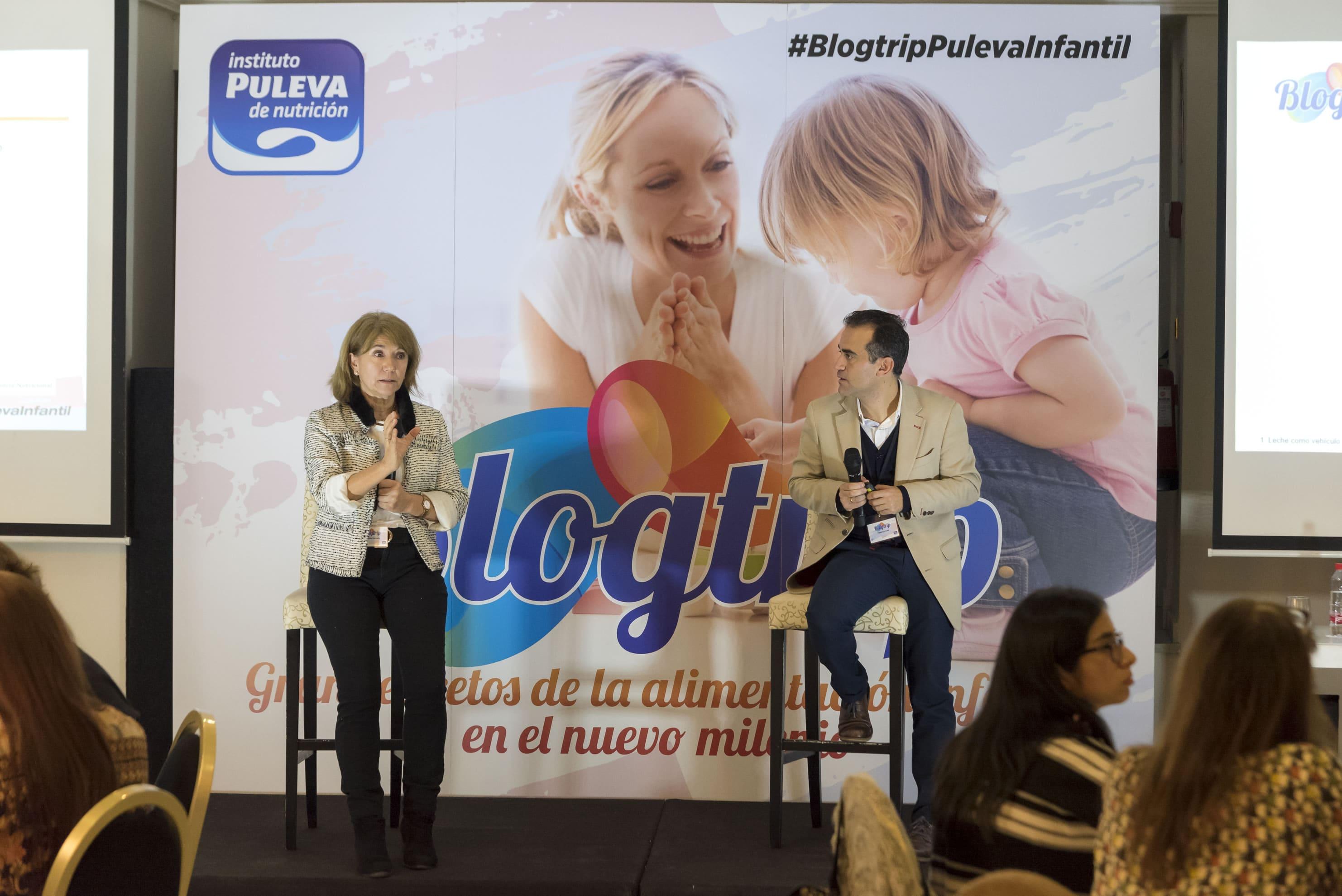 Dra Maria jesus cancelo SEGO Blogtrip puleva