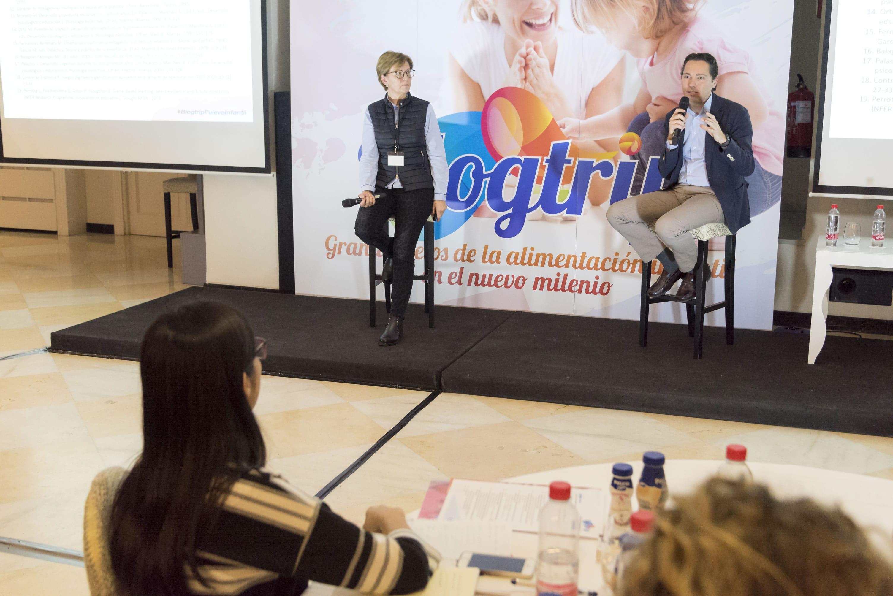 Dra. Carme Balaguer blogtrip puleva