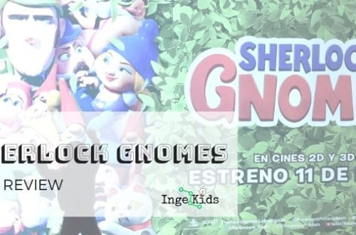 SHERLOCK GNOMES PELICULA INFANTIL