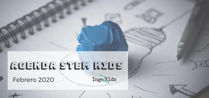 agenda stem kids febrero