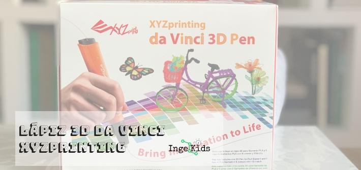 lápiz 3d da vinci XYZprinting
