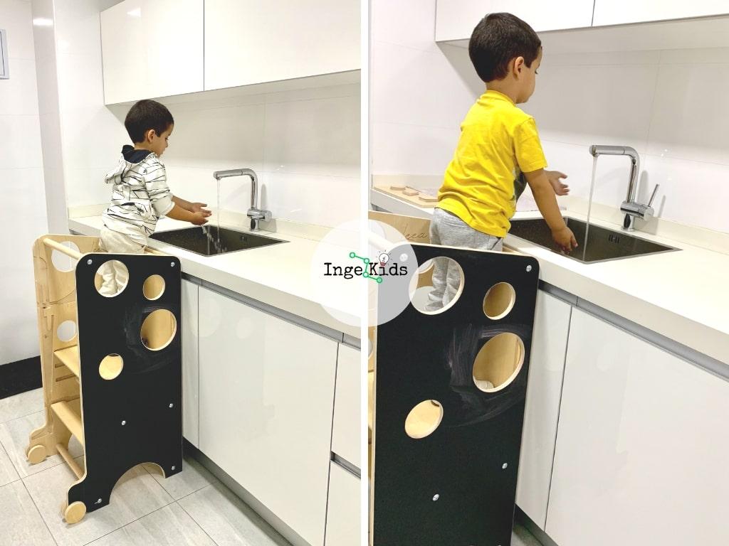 modo cocina lavabo