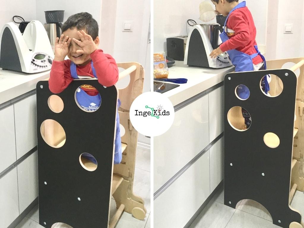 modo cocina leea torre de aprendizaje